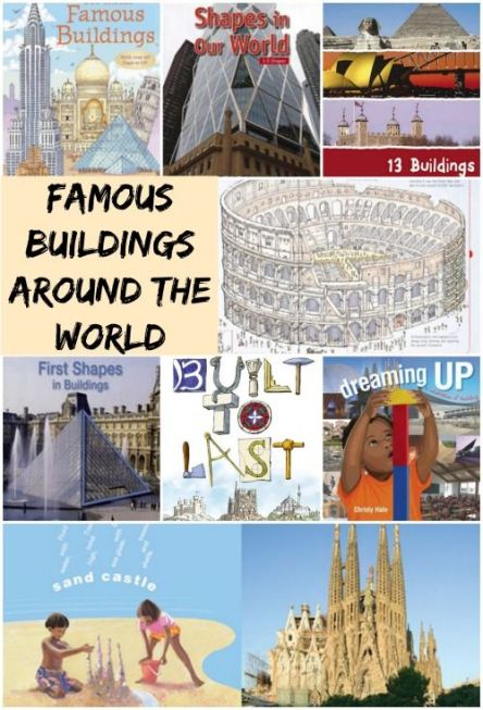 Famous Buildings Around the World by Kid World Citizen